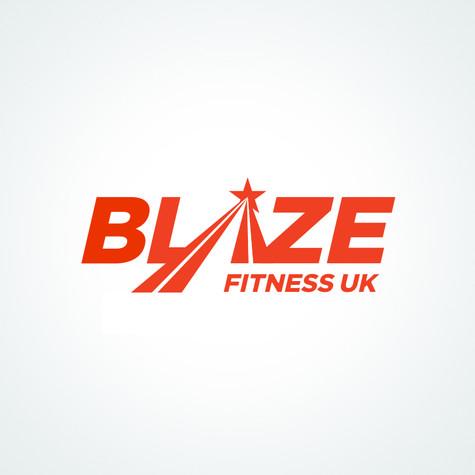 Blaze Fitness UK Branding >