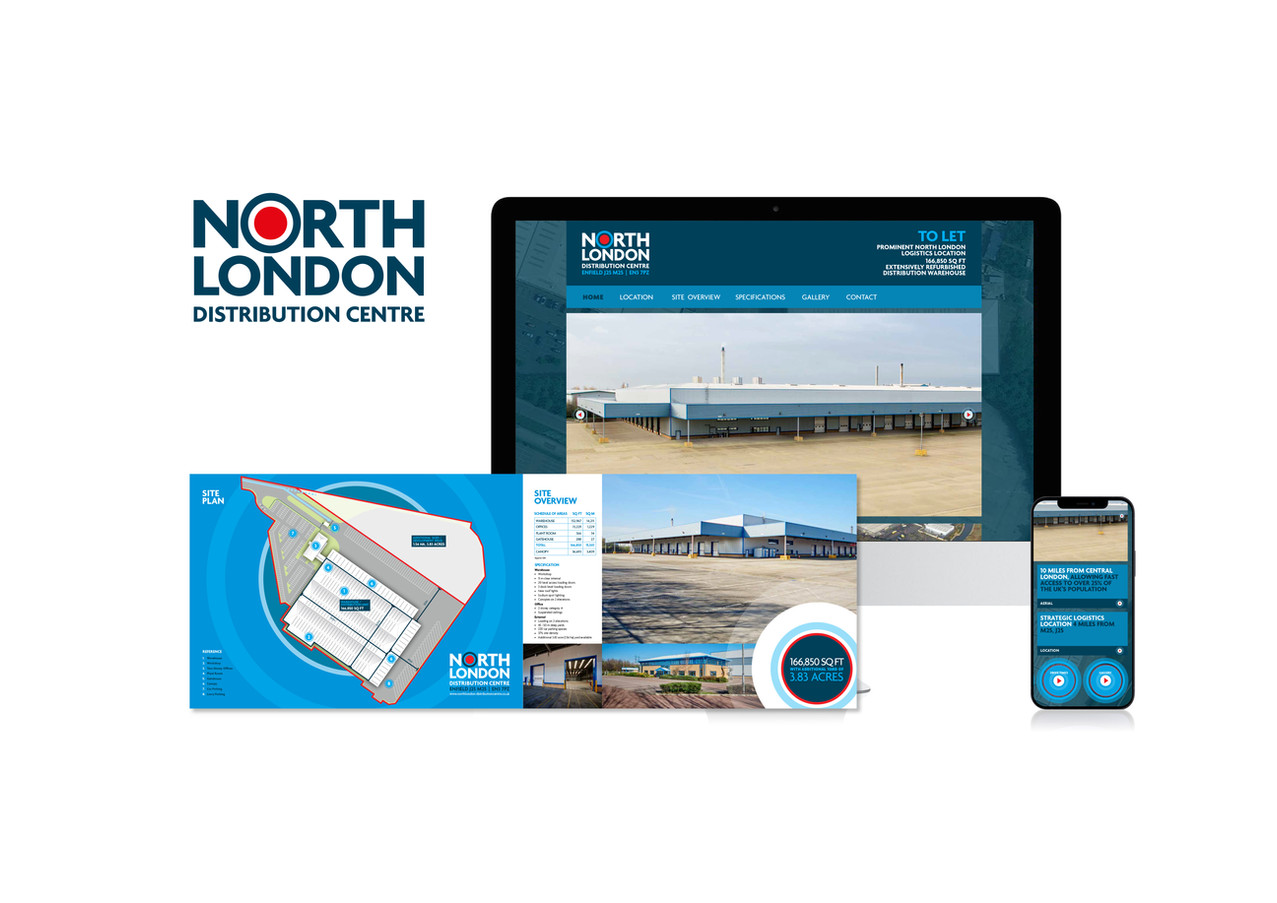 North London Distribution Centre Brandin