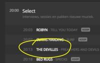 The DeVilles geselecteerd voor 'De nieuwe lichting 2015' van Studio Brussel!