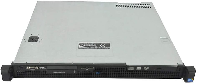 Servidor Dell PowerEdge R220, Xeon Quad-Core, E3-1220 v3