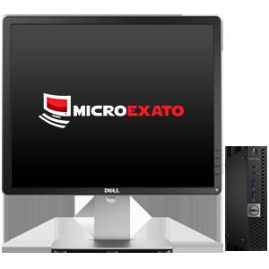 """Kit Computador Dell 3040, Win 10 Pro, i5 6ªG + Monitor Dell 19"""""""