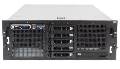 Servidor Dell PowerEdge R905, 4 x Opteron Six-Core, 8435