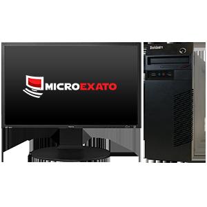 "Kit Computador Lenovo 63, Sem Sistema,  i3 4ªG + Monitor Positivo 21.5"""