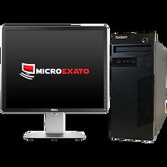 """Kit Computador Lenovo 63, Win 10 Pro,  i3 4ªG + Monitor Dell 19"""""""