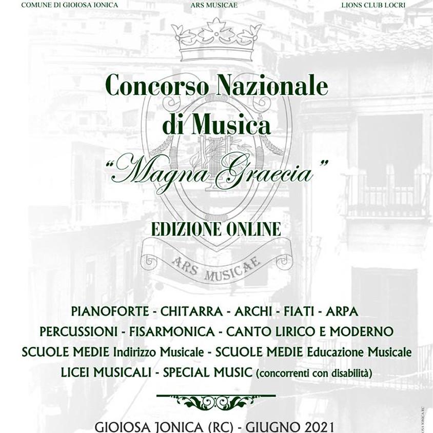 Concorso Nazionale di Musica, Magna Grecia - Edizioni Online