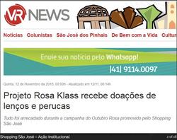 SHOPPING SÃO JOSÉ – AÇÃO INSTITUCIONAL