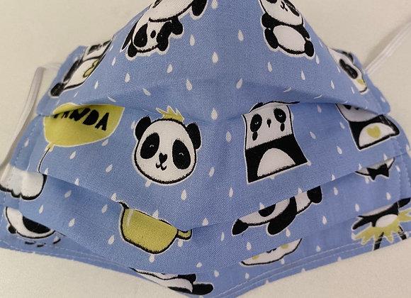 Máscara infantil panda