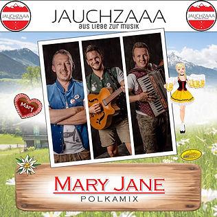 Die Jauchzaaa CD Cover Mary Singleauskop