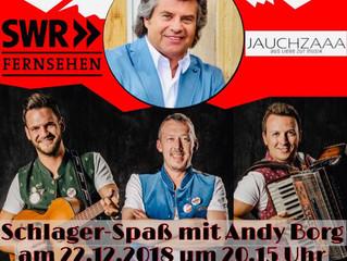 Die Jauchzaaa in der ersten Show von Andy Borg im SWR Fernsehen!