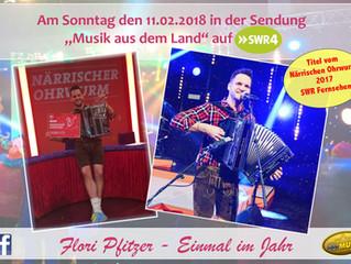 Flori Pfitzer auf SWR4
