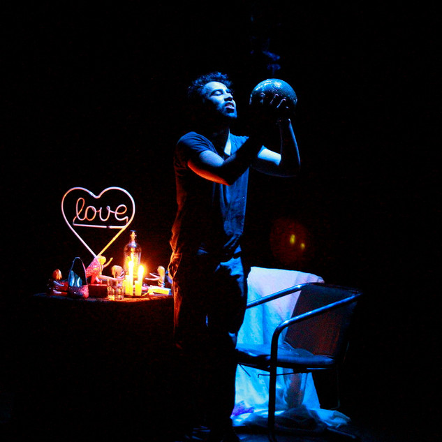 Coração Dark Room