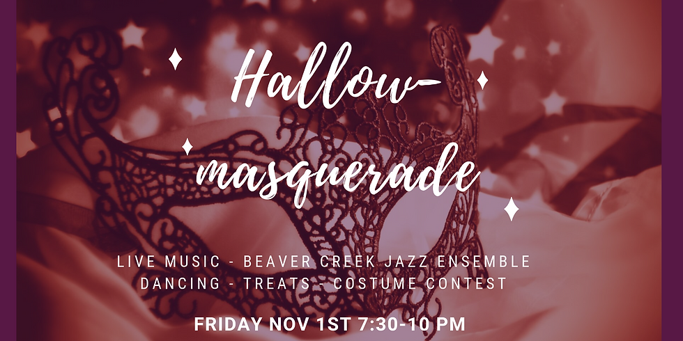 Hallow-Masquerade Party