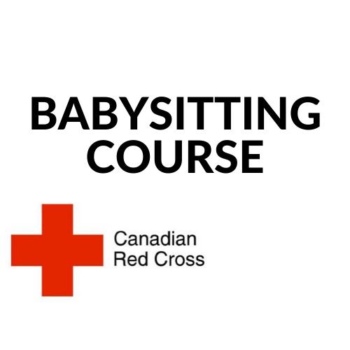 Thurs Aug 5 Red Cross Babysitter YYC