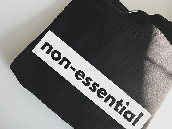 non-ESSENTIAL | crewneck sweatshirt
