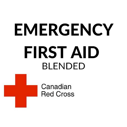 Emergency First Aid (online + in class at a later date in Edmonton)