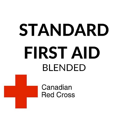 Standard First Aid w BLS (online + in class at a later date in Calgary)