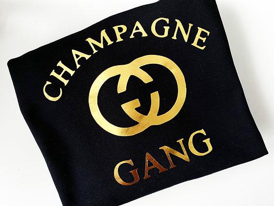 champagne GANG | crewneck sweatshirt