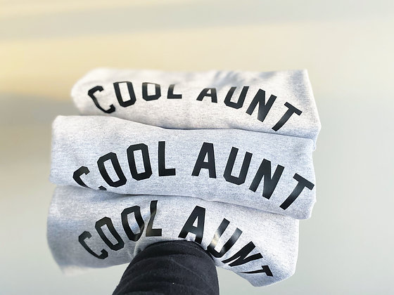 cool AUNT | crewneck sweatshirt