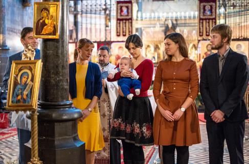 botez in biserica sfanta parascheva din Bruxelles