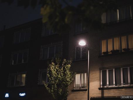 Seara printre picaturi - Ixelles
