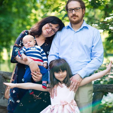 portret familie bruxelles
