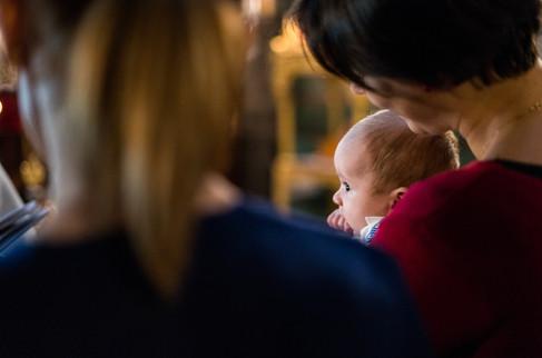 bebelus la botez in Belgia