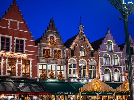 Brugge, orasul belgian in gerul lunii Decembrie