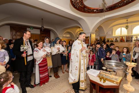 botez biserica toti sfintii belgia