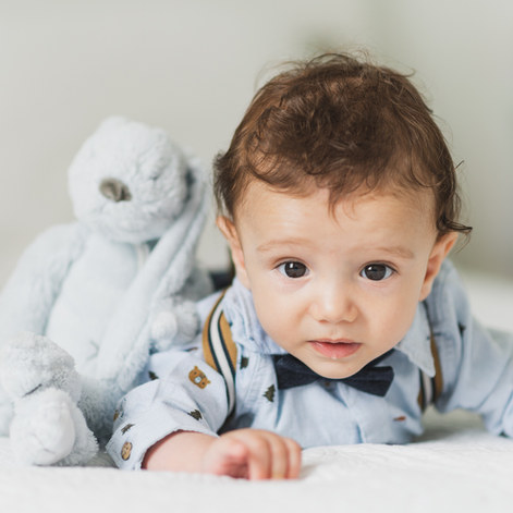 Portret de bebe in Belgia