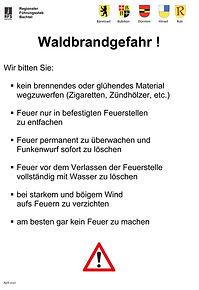 RFS-Bachtel-Info-Bulletin-Waldbrandgefah
