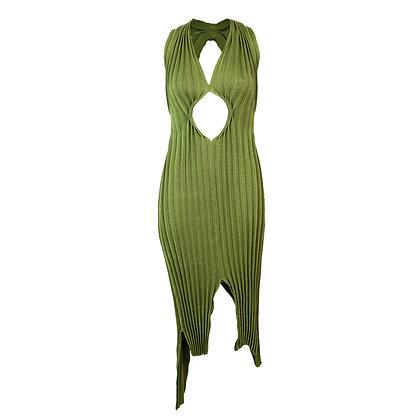 Bifurcate Dress