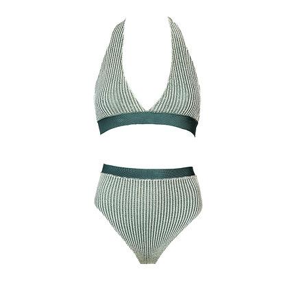 Vertical Stripe Bikini