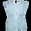 Thumbnail: Unisex Pleated Mohair top