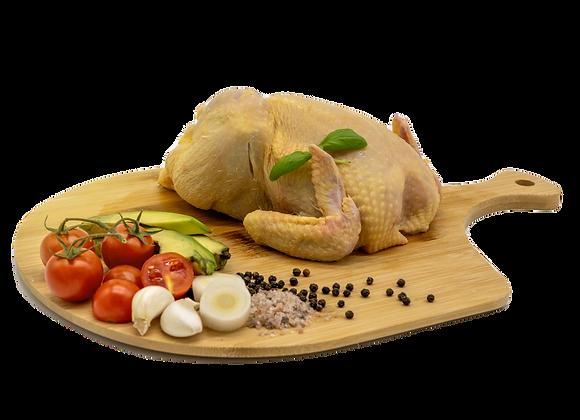 ganzes Huhn