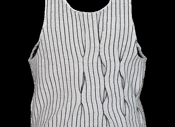 Silk Elastic Flow Vest