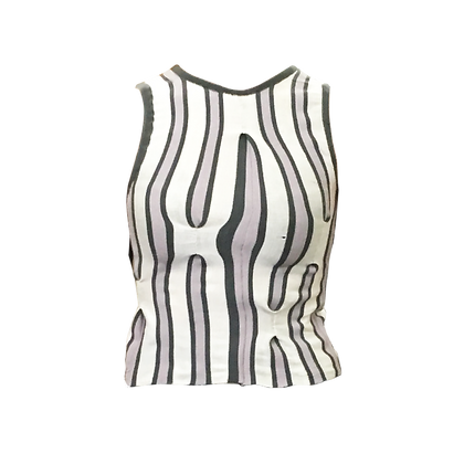 Manipulated Knit Top