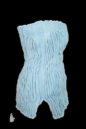 Pleated Mohair Skirt/Top