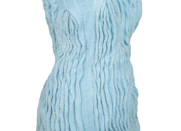 Pleated Mohair Skirt/Top