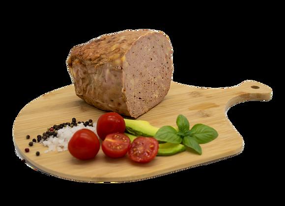 Chilli-Cheese Leberkäse