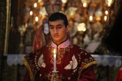 תפילה בכנסייה ארמנית