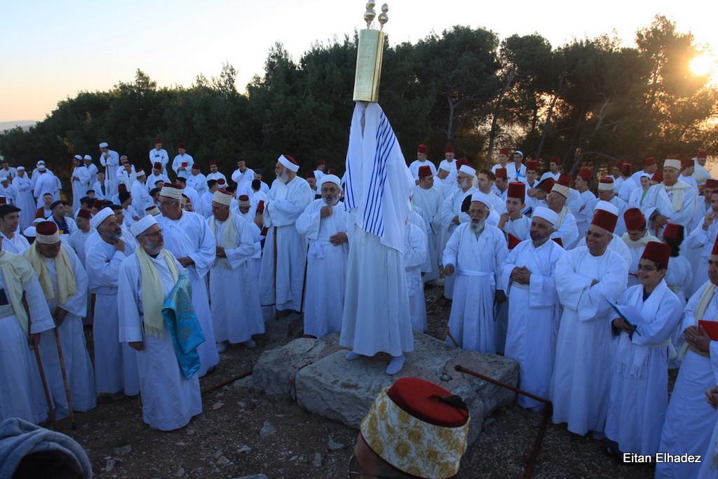 סוכות בקהילה השומרונית בהר גריזים