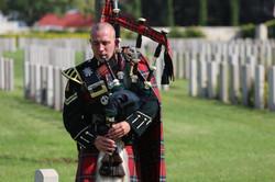 טקס ים הזיכרון לחיילים הבריטים ברמלה