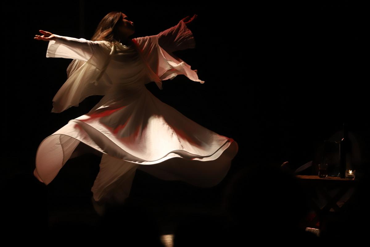 ריקוד סופי מוסלמי