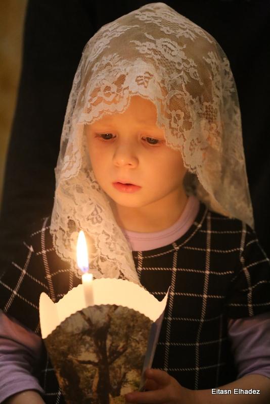 שבת האור ברובע הנוצרי