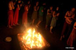 טקס אש טנטרי של הדת ההינדית