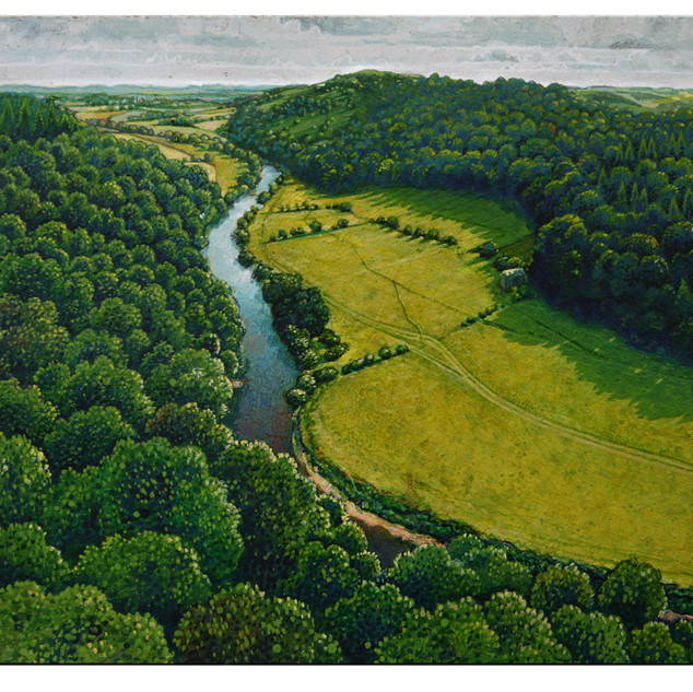 Symonds Yat (small) 20x 15 cm
