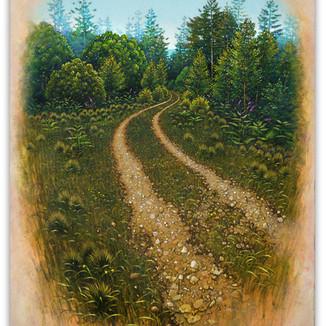 Forest Meander. 43x33cm - SOLD