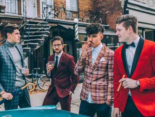 Les styles du gentleman moderne