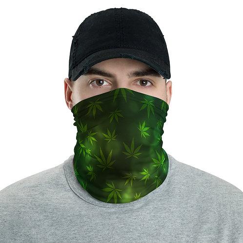 Marijuana Cannabis Neck gaiter Protective Mask