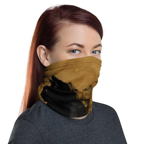 Black Cat Smoke Neck gaiter Protective Mask